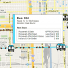 CTA Bus Map - bus arrival