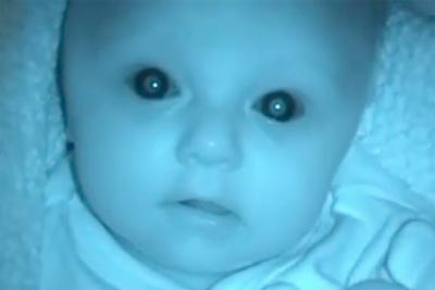 Babies in Night Vision