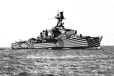 Razzle Dazzle Camouflage - Battleship