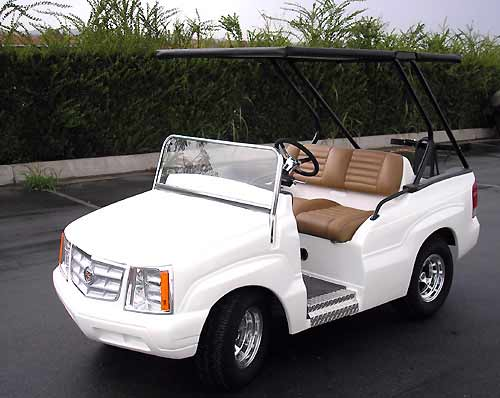 Golf Cart Mods -- cadillac