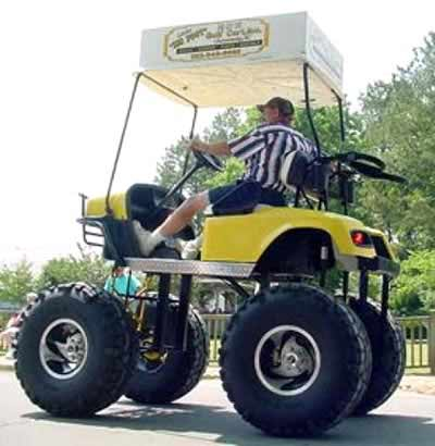 Golf Cart Mods -- MONSTER