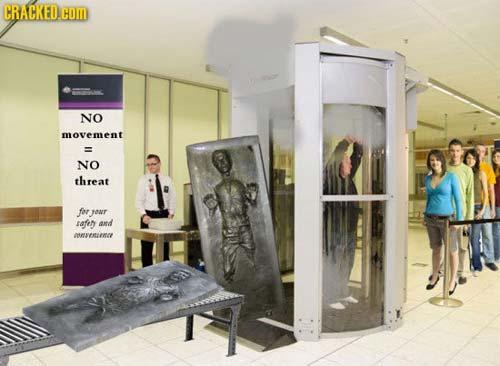 空港セキュリティ - カーボナイト保存