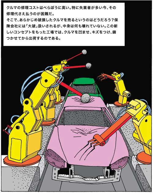 Pre-wrecked Auto - robots damage
