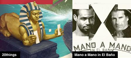 Old Spice Mano a Mano in El Baño